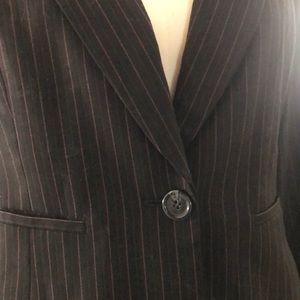 Style&Co. 2-piece striped suit